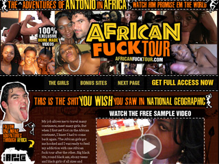 African Fuck Tour - The Fucked Up Adventures of Antonio in Africa!