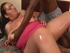 Two nasty nerds screw and cum ebony